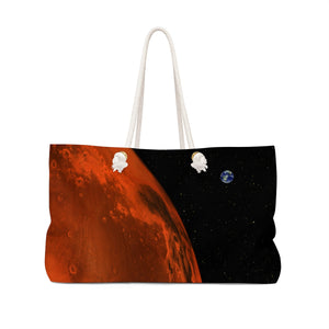 Planet Mars Bag Front