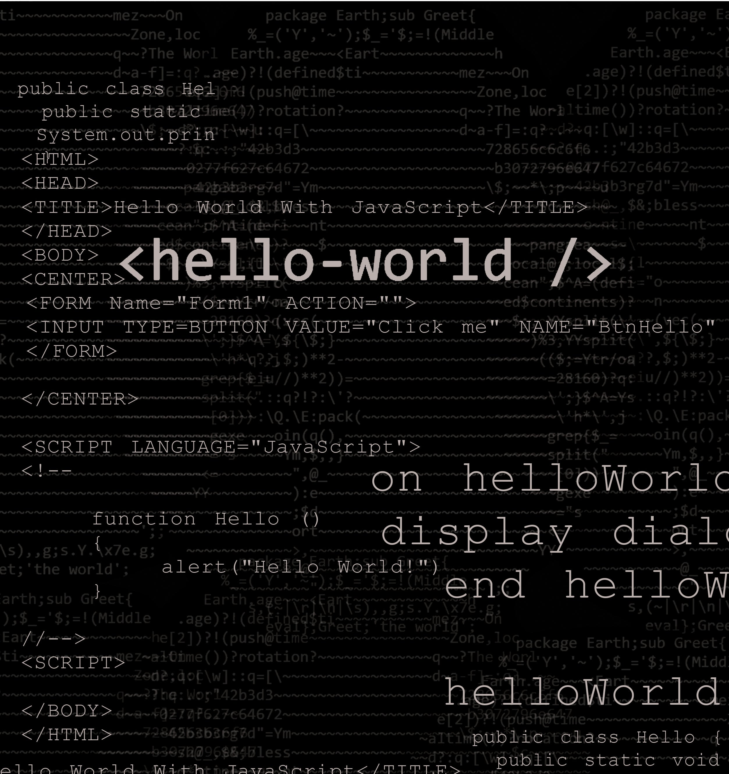 ... Hello World Dress ...