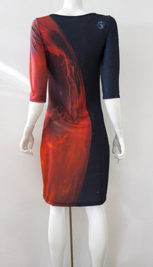Mars Astronaut Dress back