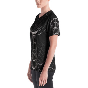 SpaceTime Warp Women's V-Neck T-Shirt