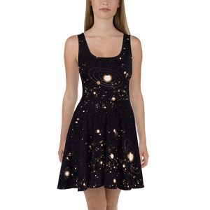 Exoplanet Astronomy Dress Front
