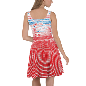 Climate Change Data Skater Dress