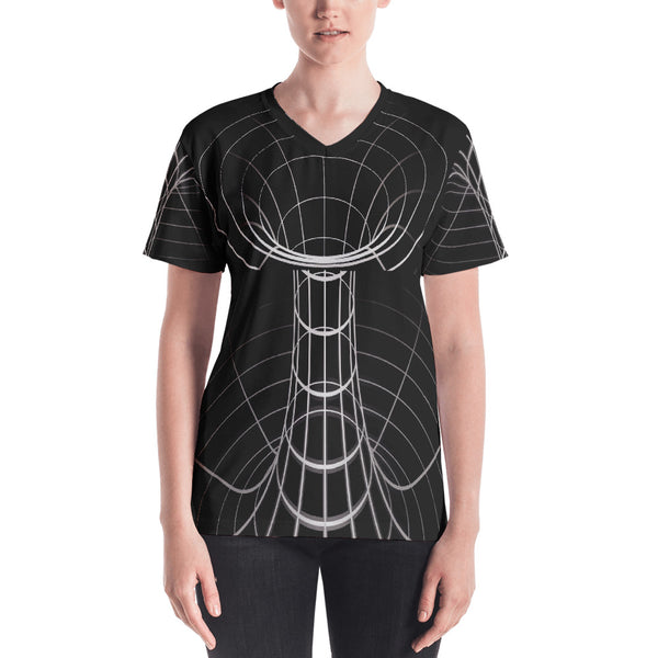 Space Worm Hole Shirt Front