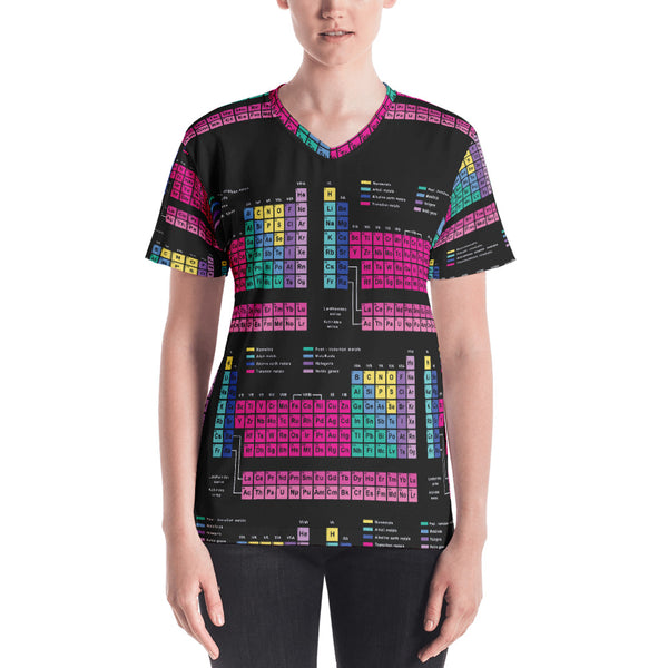 Periodic Table Tshirt Front