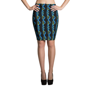 DNA Pencil Skirt