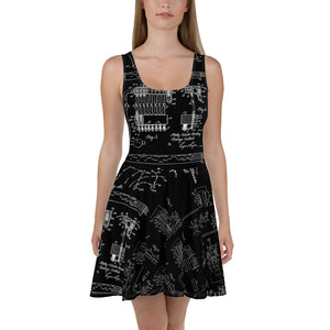 Hedy Lamarr Wifi Dress Front