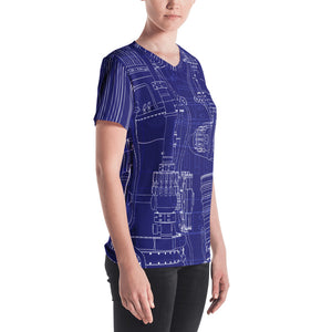 Rocket Science Women's V-Neck T-Shirt