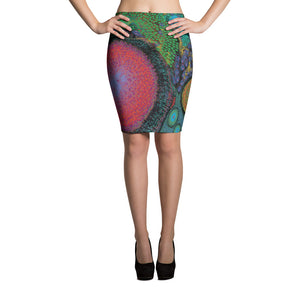 A.I. Art Pencil Skirt
