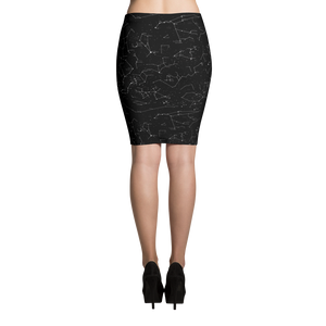 Constellation Pencil Skirt
