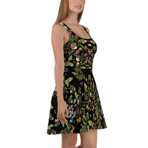 Botanical Skater Dress