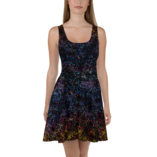 Dark Matter BOSS Skater Dress Front