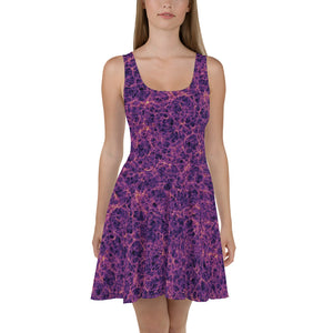Millennium Simulation Skater Dress Front