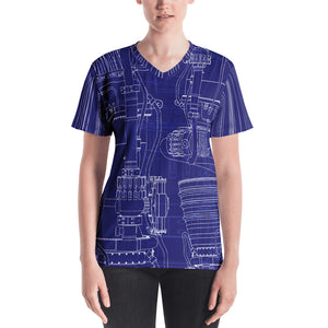 Blueprint Engineering Shirt Front