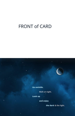 Note Card - Night Sky