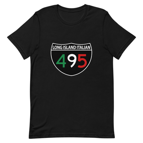 Long Island Italian Black T-Shirt - Long Island Italian