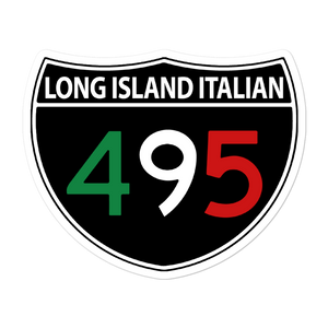 Long Island Italian Sticker - Long Island Italian