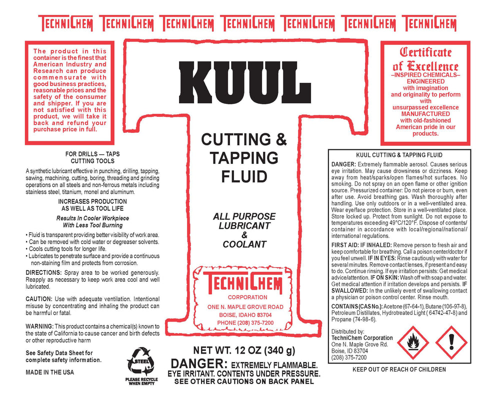 KUUL, Metal Working Coolant