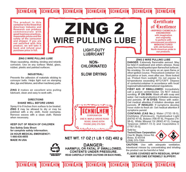 ZING 2, Silicone & Beeswax Lubricant