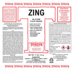 ZING, Silicone Lubricant, Food Grade