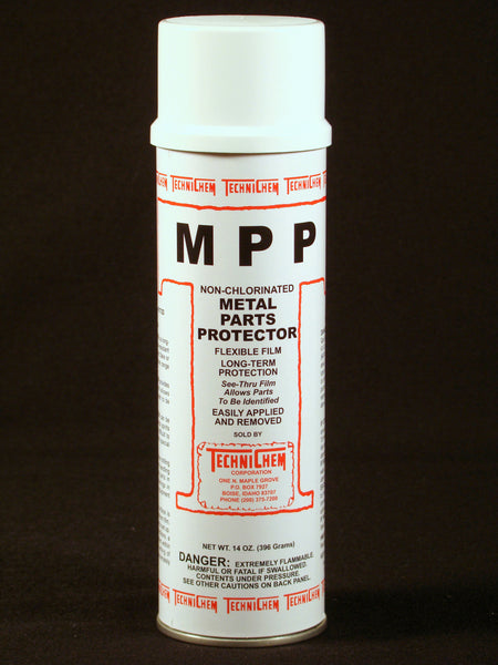 MPP, Metal Parts Protector: NO LONGER STOCKING. SPECIAL ORDER ONLY.