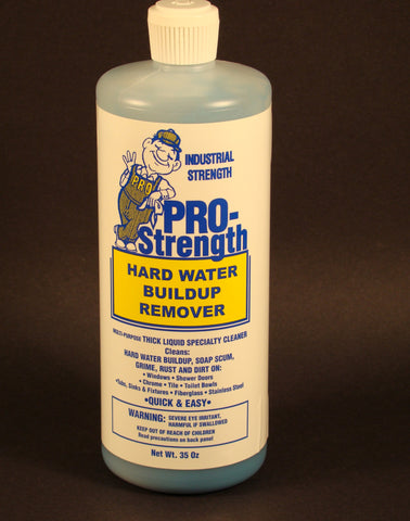 PRO STRENGTH, Hard Water and Mineral Remover
