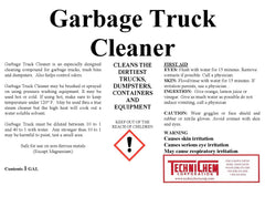 GARBAGE TRUCK CLEANER, Heavy Duty Vehicle Detergent