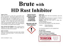 BRUTE LIQUID w/ HD RUST INHIBITOR, Heavy-Duty Detergent