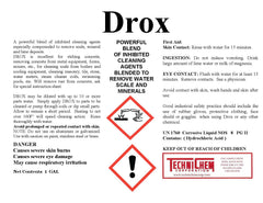 DROX,  Acid Descaler & Cleaner