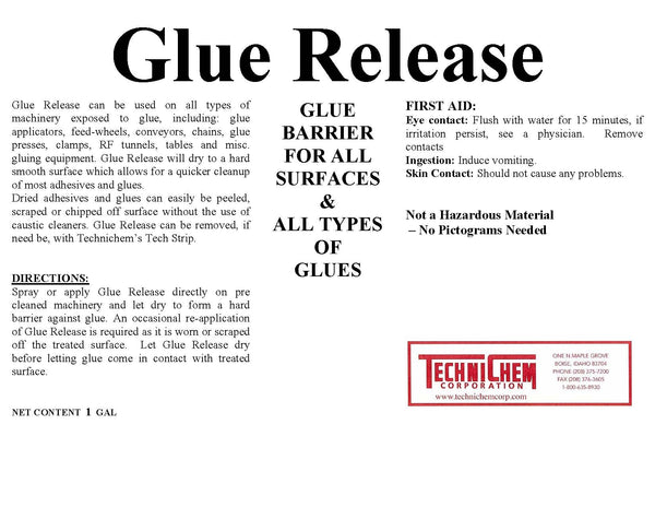 GLUE RELEASE, Glue Barrier