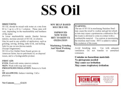 SS OIL, Grinding Coolant