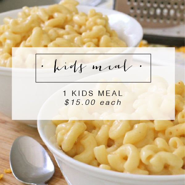 Scratch Kids Meal