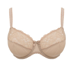 Full Cup Underwired Bra in Cream