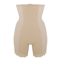 Shapewear High Brief With Legs in Cream