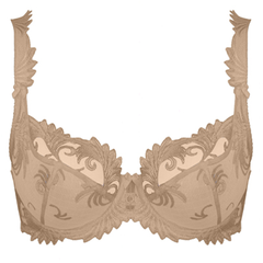 3/4 Cup Underwired Bra in Caramel