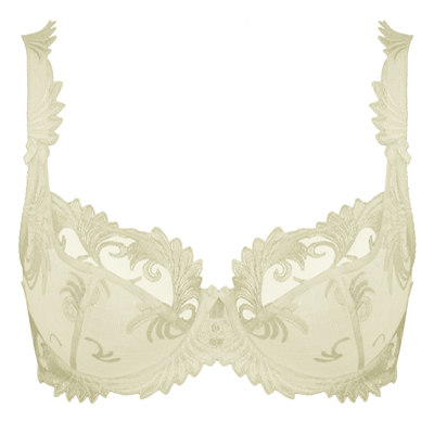 3/4 Cup Underwired Bra in Ivory
