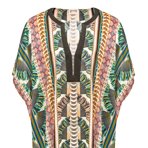 Art Deco/Belle Epoque Long Kaftan