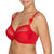 Full Cup Underwire Bra in Scarlet