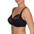 Full Cup Underwire Bra in Black