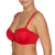 Padded Balcony Bra in Scarlet