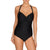 Control Swimsuit in Black