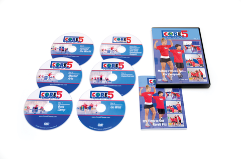 Core5 Kids™ Core5 Fitness for Kids DVD