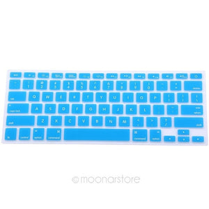 Silicone Keyboard Cover Protector Skin for Apple  Soft keyboard stickers 9 Colors