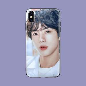 Euphoria Jungkook KPOP soft Silicone iPhone case
