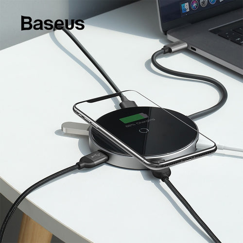USB Type C HUB to 3.0 HDMI HUB with Wireless Charge for MacBook Pro Multi USB HUB Computer Accessories Splitter USB C HUB