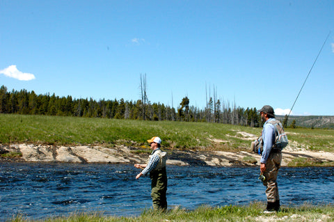 Yellowstone National Park fly fishing trips with Gallatin River Guides