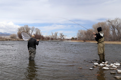 Montana fly fishing guide school Wil Kiplinger