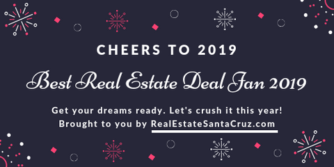Best Real Estate Deal in Santa Cruz Jan 2019