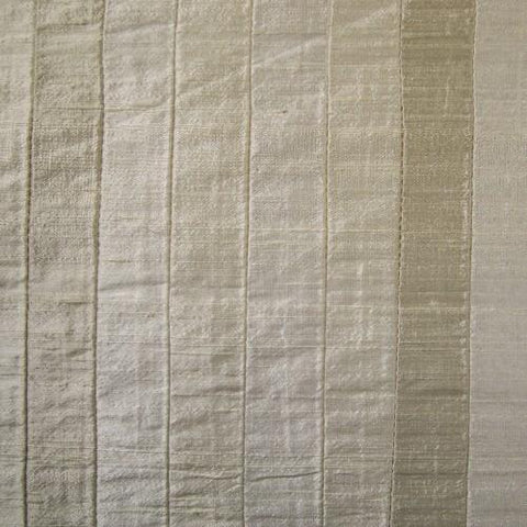 Toned and Striped Silk Shantung Embroidery