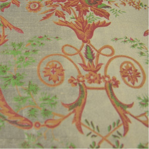 Silk Shantung Hand-painted 003