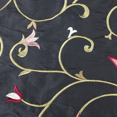 Silk Shantung Embroidery 066